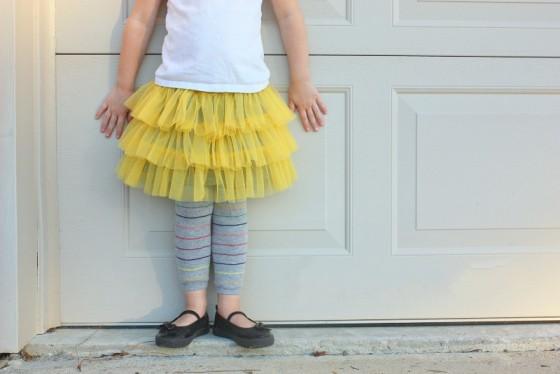 Как просто сшить юбку из фатина