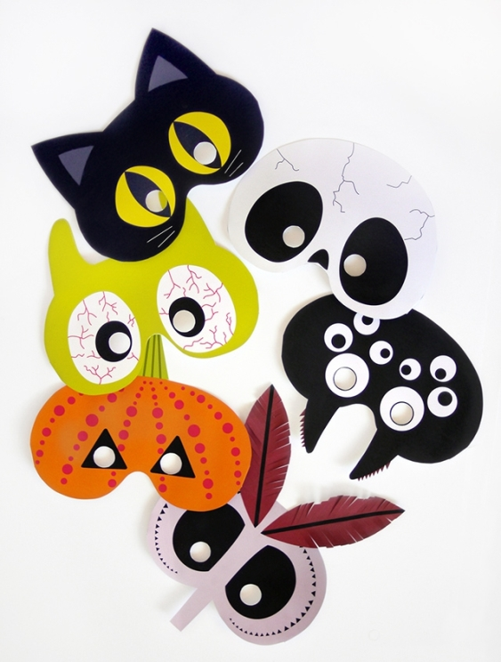 01. Делаем маски на Хэллоуин