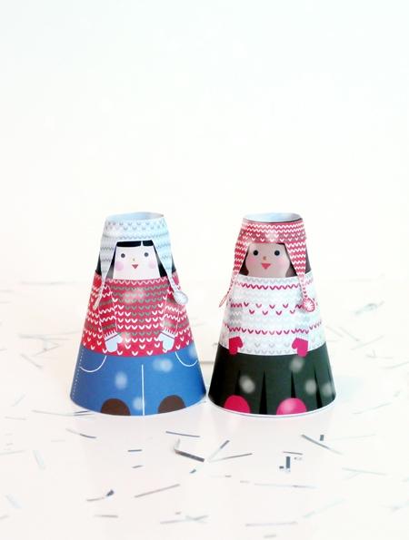 02. Куклы для вырезания