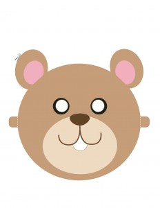 02. Детские маски животных