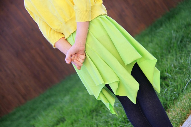 03. как сшить юбку-солнце фото