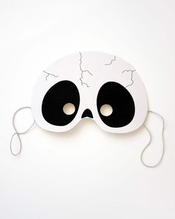 03. Делаем маски на Хэллоуин