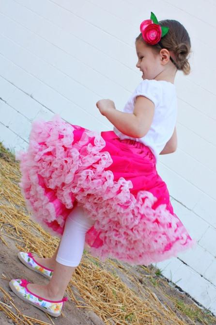 Как сделать пышную юбку для куклы фото 811