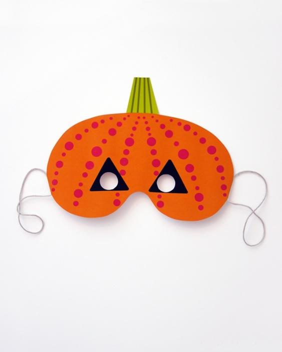 04. Делаем маски на Хэллоуин