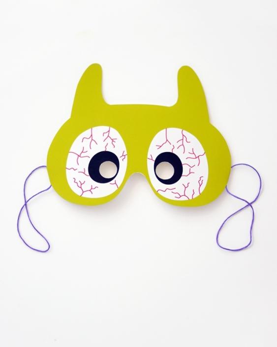 06. Делаем маски на Хэллоуин