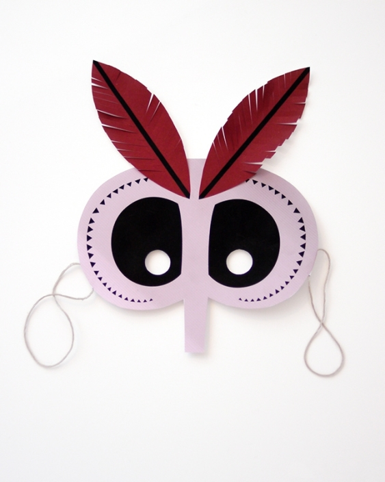 07. Делаем маски на Хэллоуин