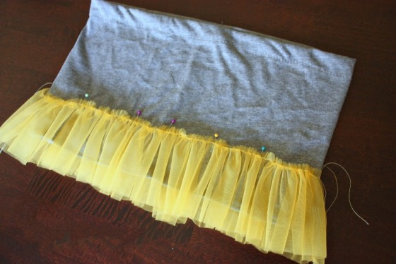 11_сшить юбку из фатина