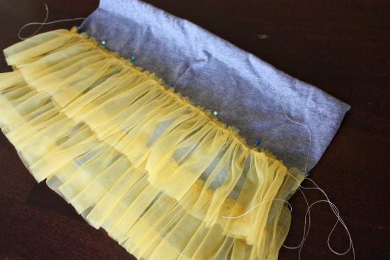 13_сшить юбку из фатина