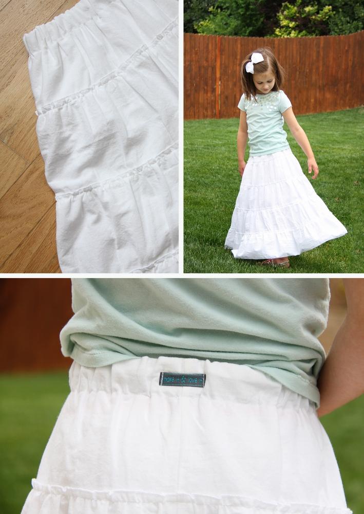 02. Как сшить юбку для девочки