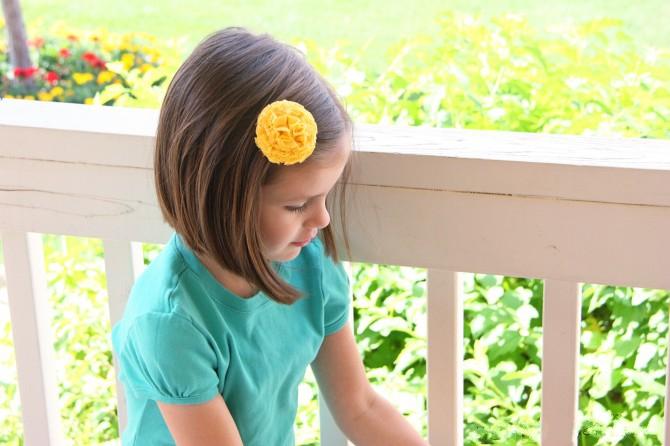 03. Как сделать цветы из ткани