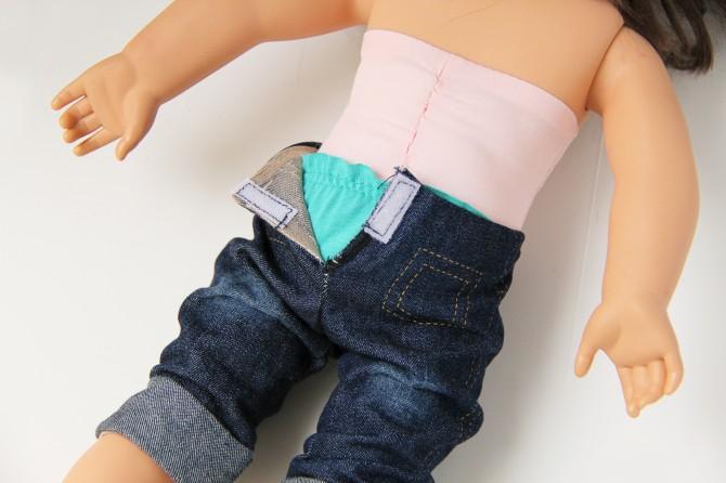 02. Как сделать одежду для кукол