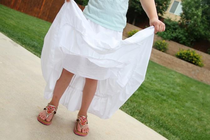 03. Как сшить юбку для девочки
