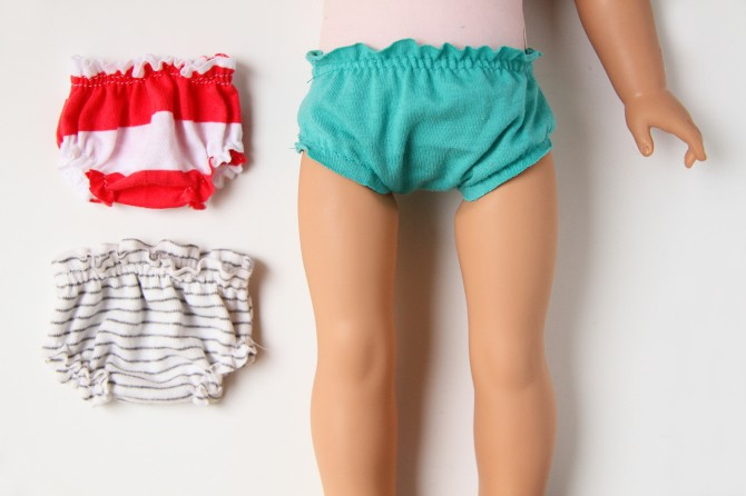 Как сшить шорты для куклы фото