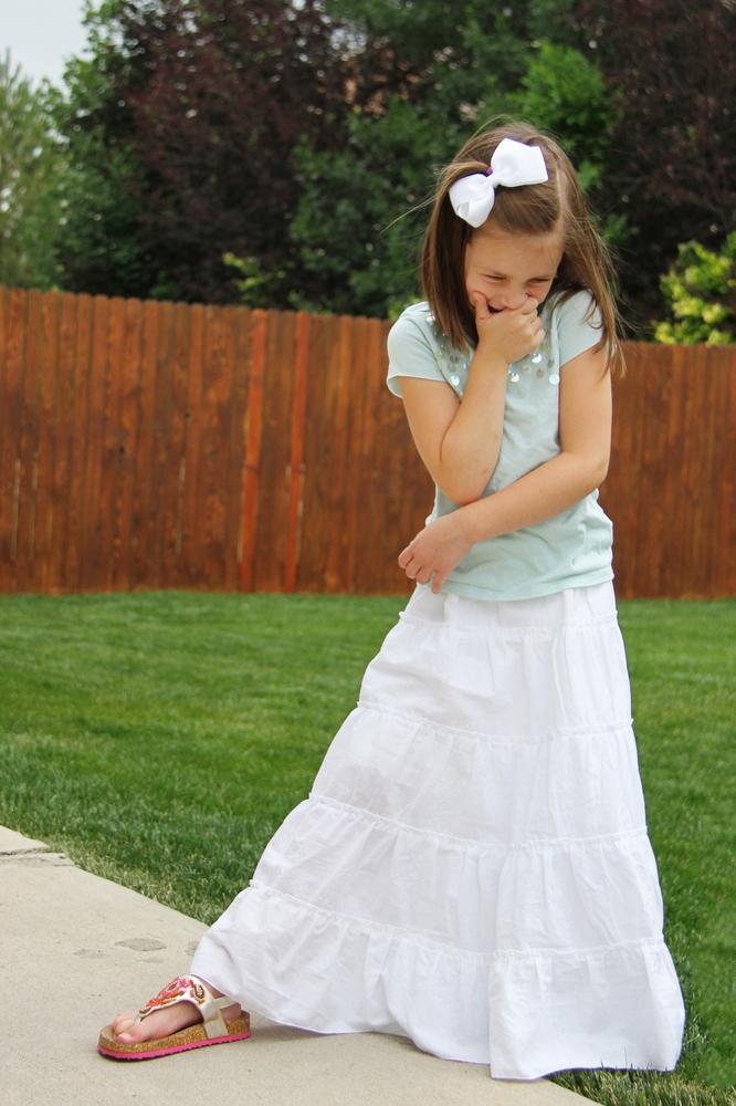 05. Как сшить юбку для девочки