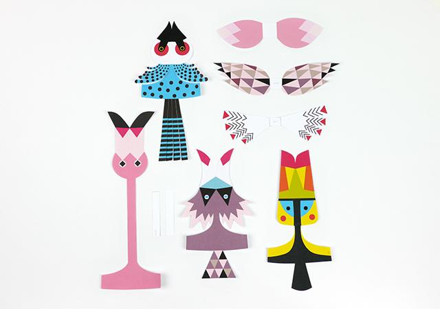 Игрушки из бумаги для кукол