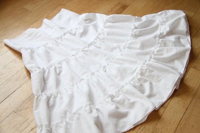 10. Как сшить юбку для девочки
