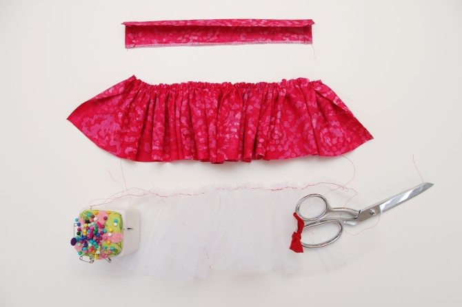 Как сшить юбку для большой куклы 67