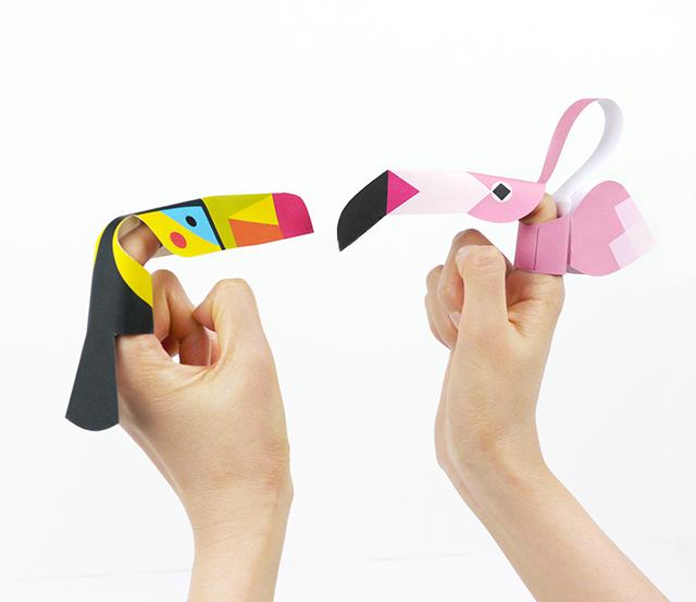 14. Пальчиковые игрушки