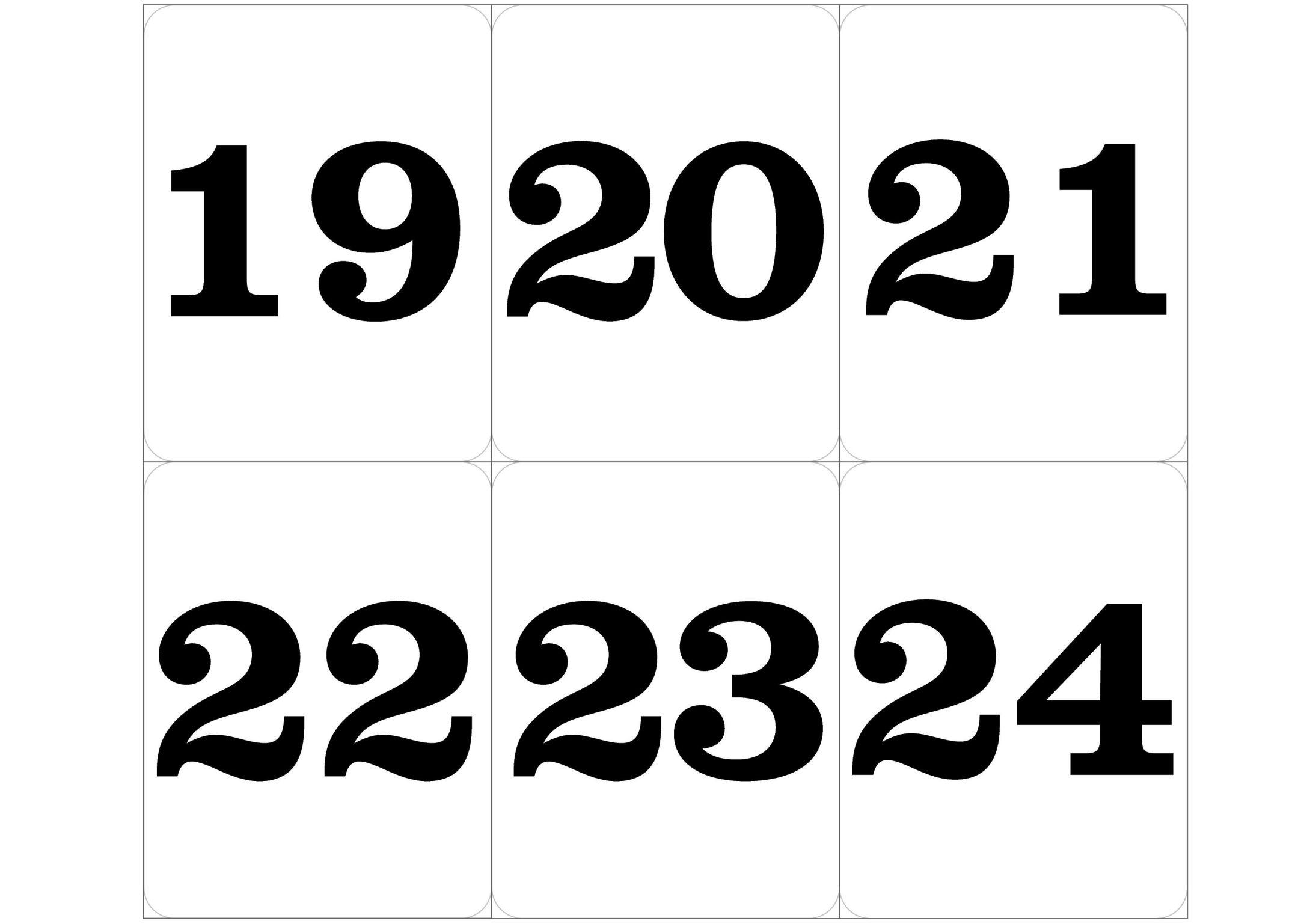 красивые цифры картинки для печати