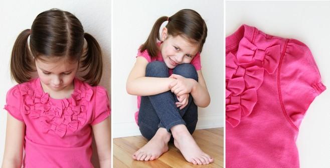 Блузки для девочки пошить своими руками