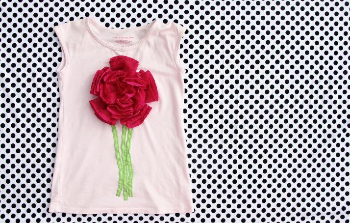 05. Цветочные аппликации на одежду