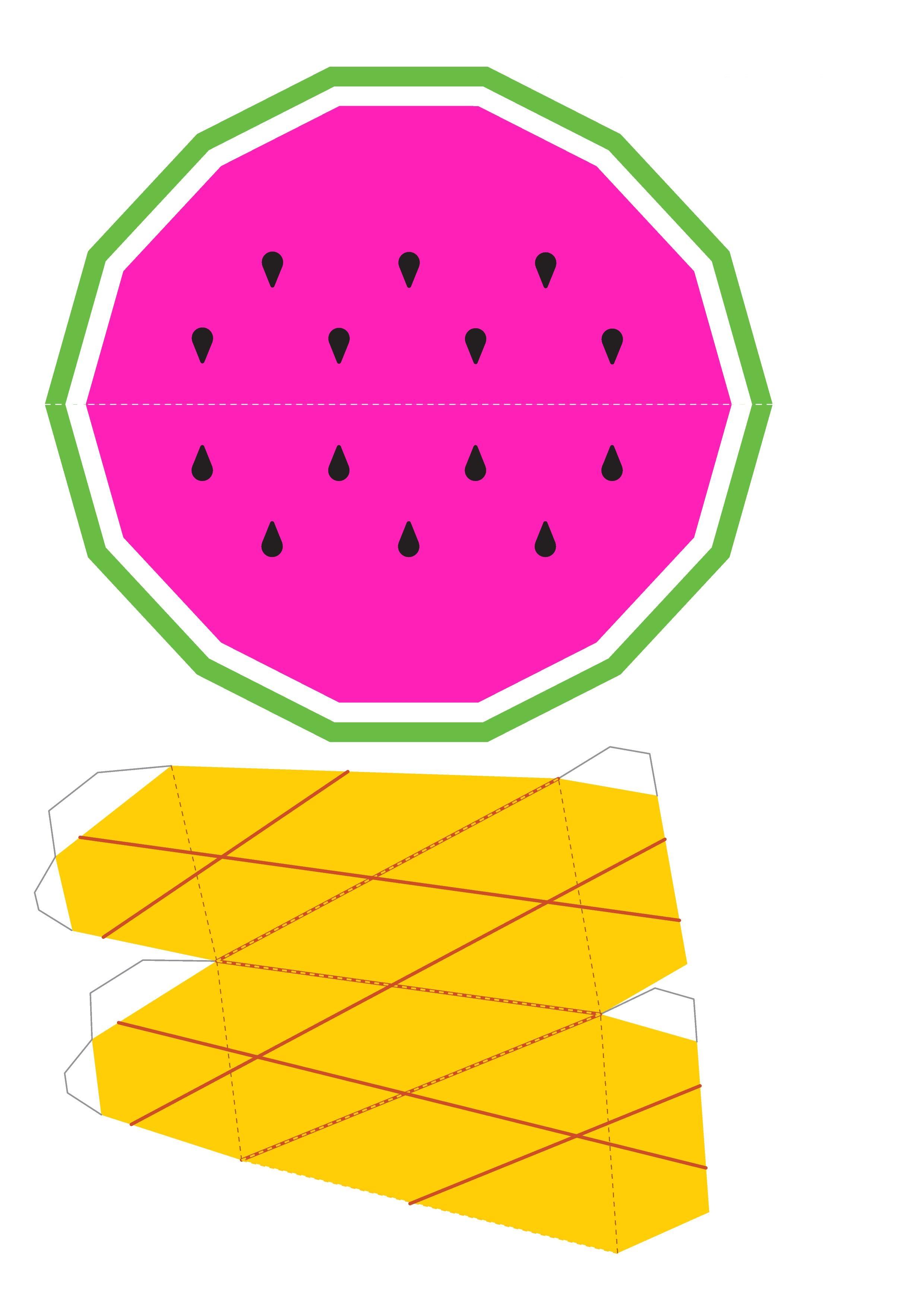 Поделка своими руками фрукты из бумаги