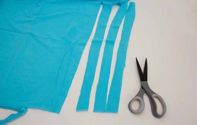 09. Как сделать цветы из ткани за несколько минут