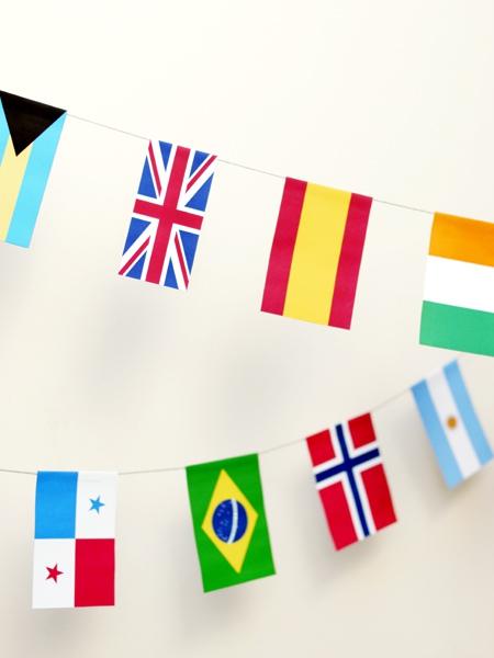 02. Флаги с названиями стран
