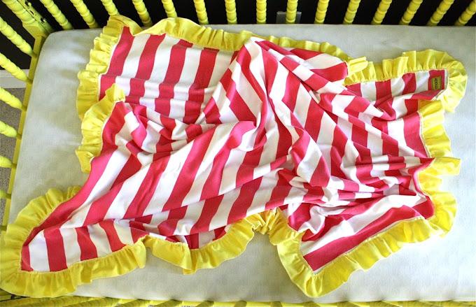 02. Одеяло для новорожденных
