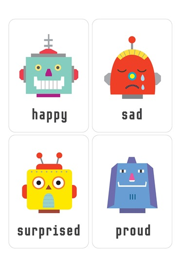 эмоции в картинках для знакомства дошкольников