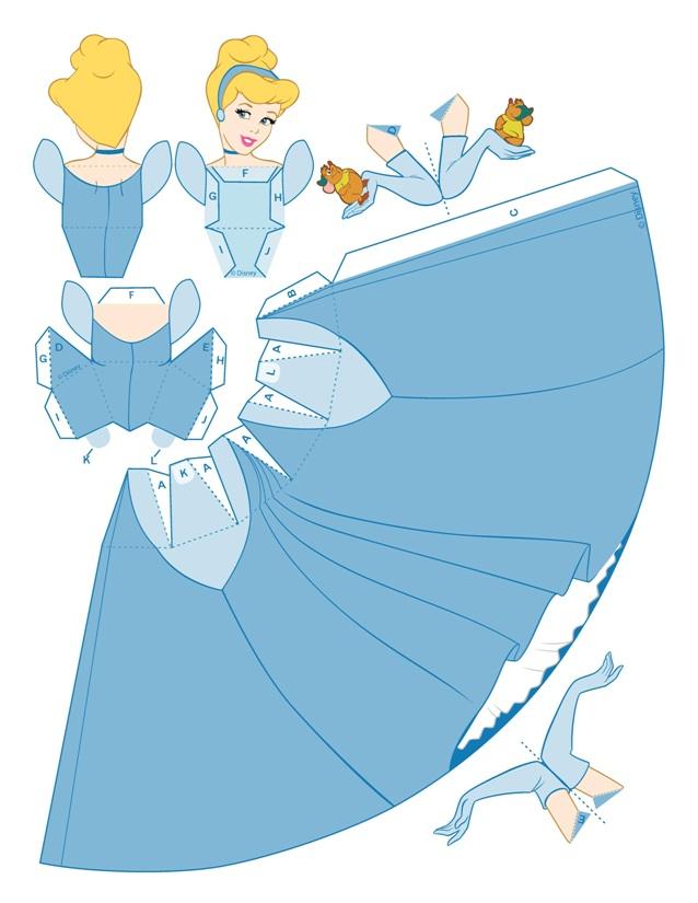 03. Принцессы Диснея Золушка своими руками
