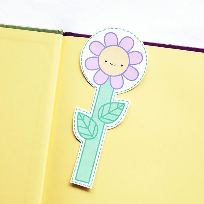 05. Цветочные закладки для книг