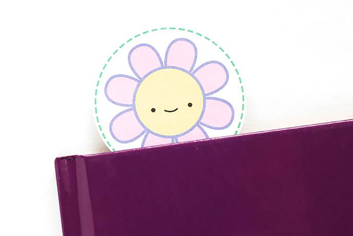 06. Цветочные закладки для книг