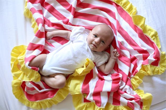 12. Одеяло для новорожденных