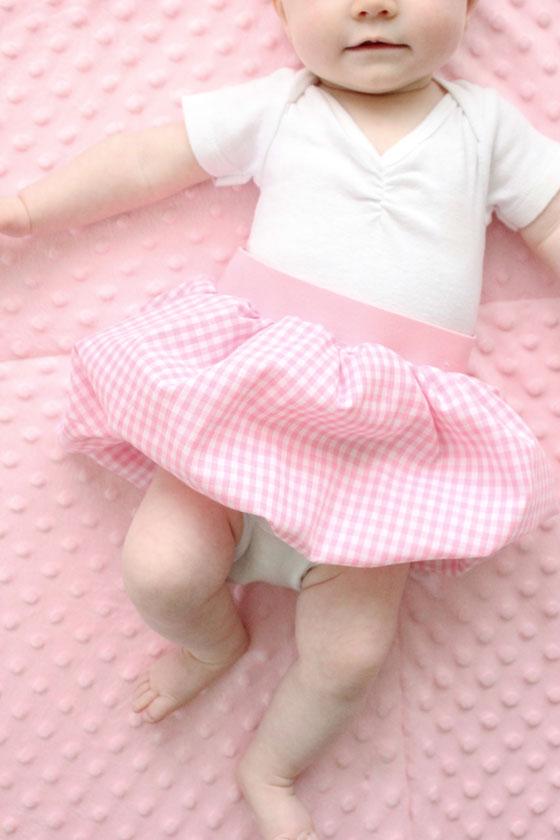 14. Воздушное очарование или юбка для девочки своими руками!