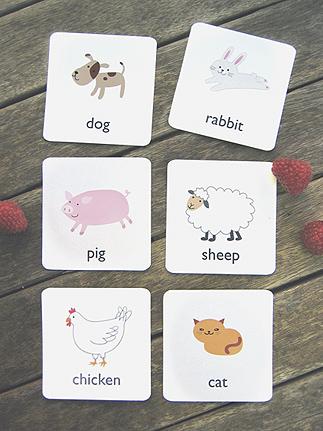 01. Забавный английский для детей в картинках - животные