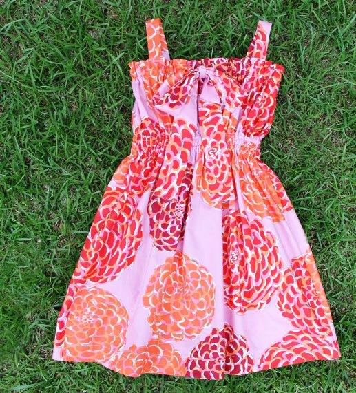Шьем платья девочкам сами