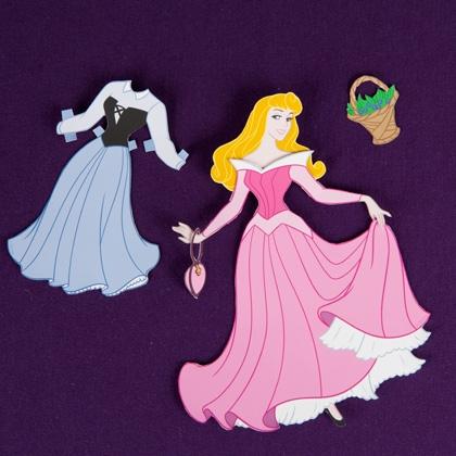 03. Принцессы Диснея бумажные куклы своими руками