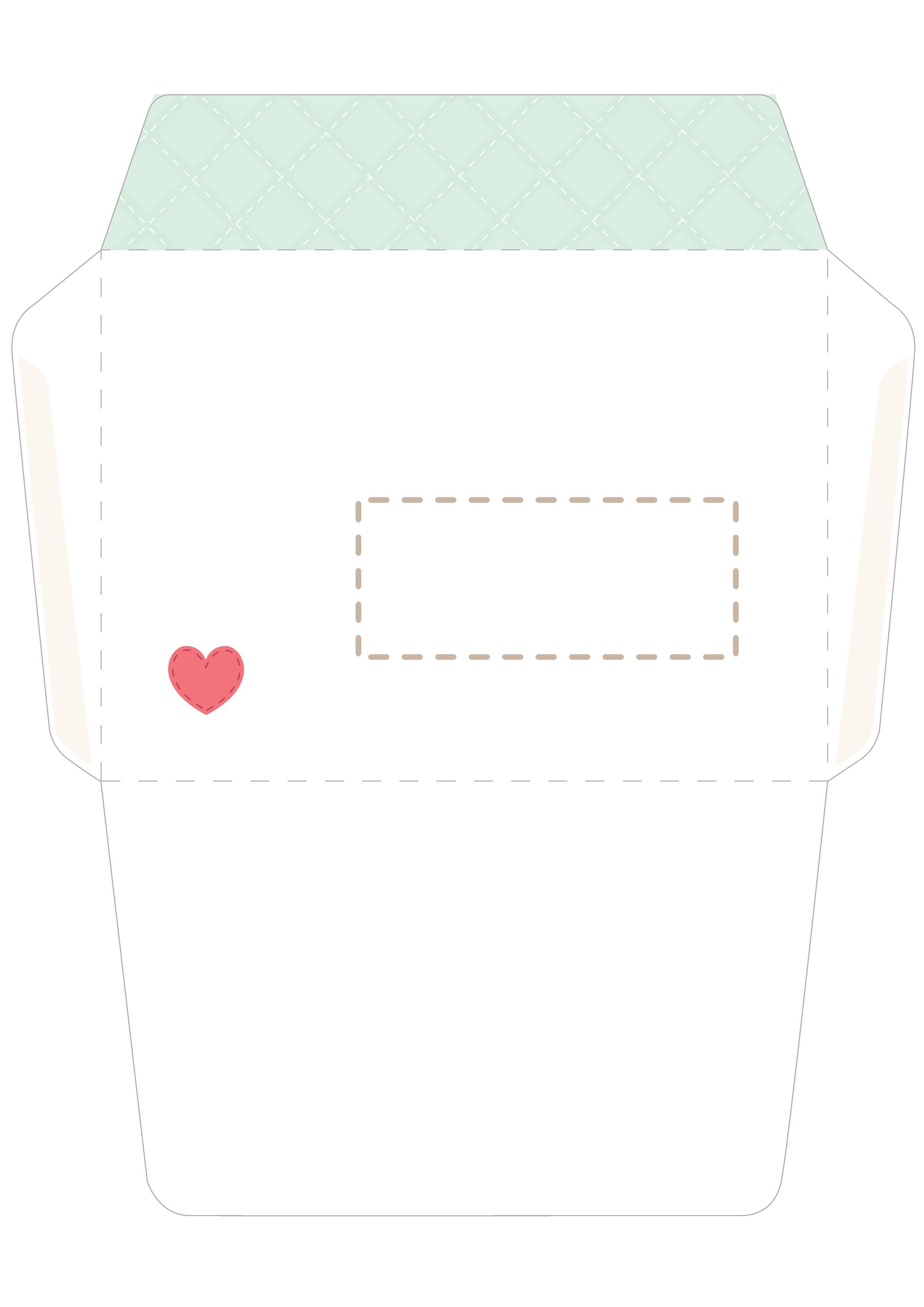 Как сделать конверт из бумаги шаблон