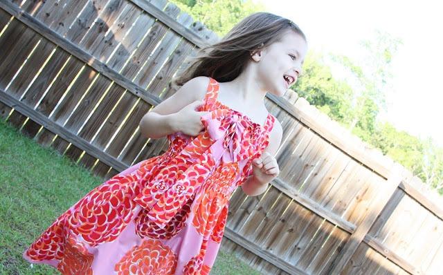 05. Сшить платье для девочки летнее