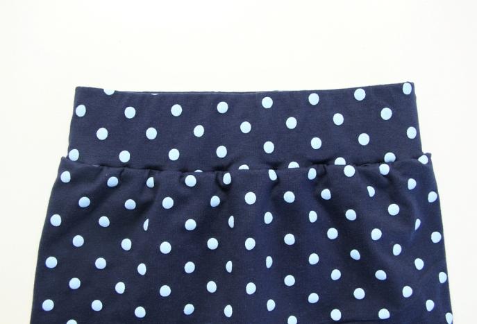 21. Как сшить юбку для девочки трикотаж