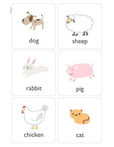 003. Учим английский в картинках - животные