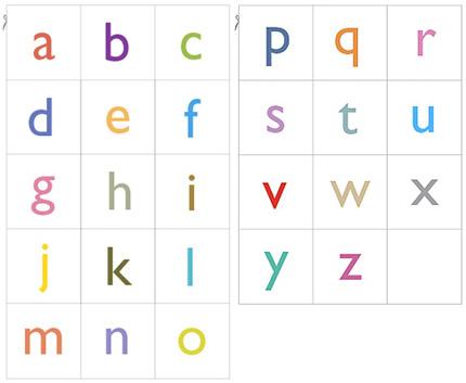 02. Выучить буквы английского алфавита