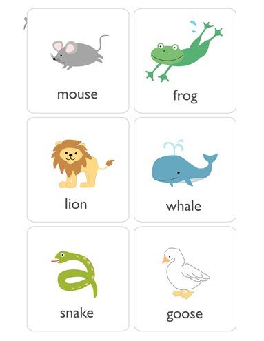 004. Учим английский в картинках - животные