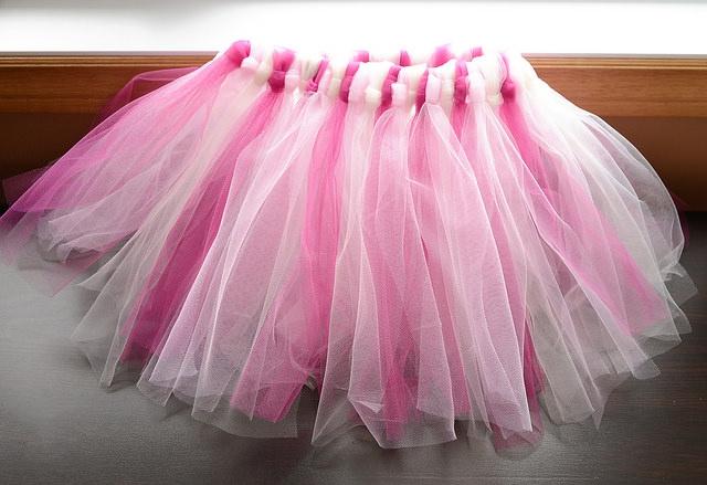 юбка с фатина
