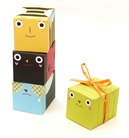 Как сделать маленькие коробочки из бумаги своими
