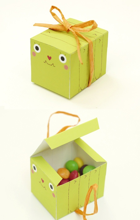 Маленькие коробочки с конфетами своими руками