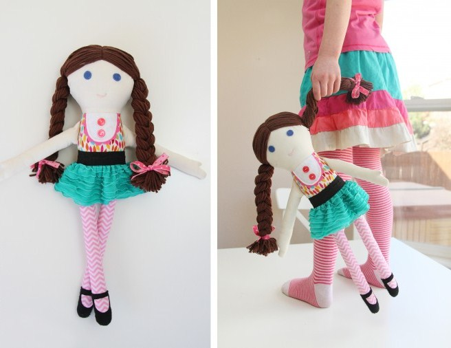 Как сшить куклу своими руками чтобы было легко 340