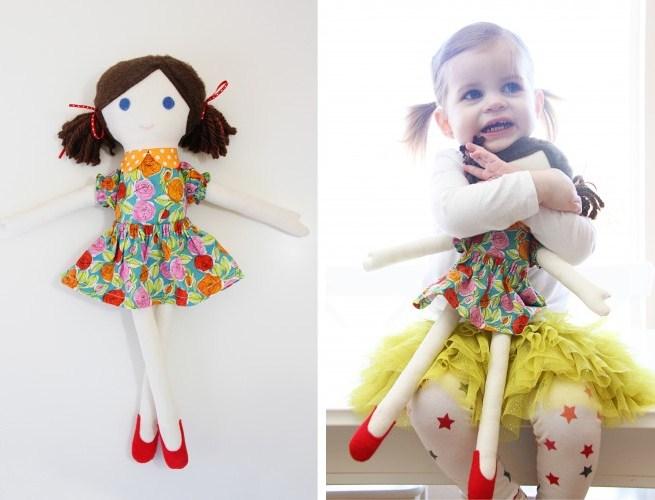 10. Милые куклы своими руками
