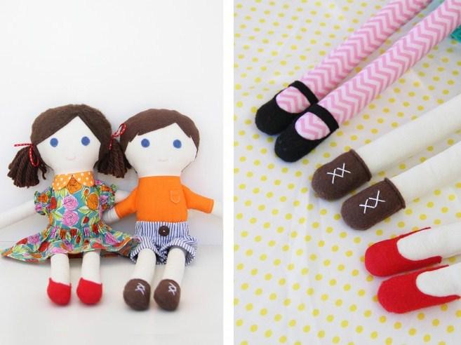 12. Милые куклы своими руками